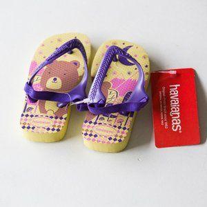 Havaianas Sandals Girls Flip Flops Size 9C